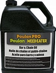 Poulan Pro Bar And Chain Lube Per Case Of 4 Gallons