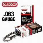 75LGX084G Oregon Full chisel chainsaw chain 3/8 72 DL .063 gauge