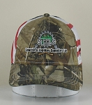 Stahl's Camo/American Flag Hat