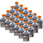 Husqvarna XP Premium Two-Cycle Engine Oil, 6.4oz. Bottle, 2 1/2 Gallon Mix, Per Case Of 24 Bottles