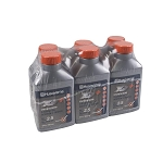 Husqvarna XP Premium Two-Cycle Engine Oil, 6.4oz. Bottle, 2 1/2 Gallon Mix, Per Six Pack