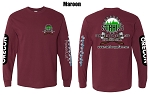 Stahl's Maroon Long Sleeved T shirt