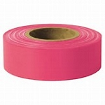 Pink Hi-Vis Flagging Per Roll