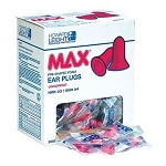 Max Ear Plugs UnCorded 200 Pair Per Box
