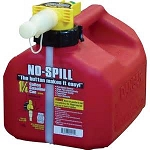 1 1/4 Gallon No-Spill Gas Can