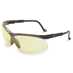 Uvex Genesis Safety Glasses W/Amber Lens