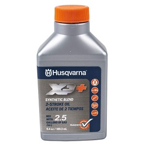 Husqvarna XP Premium Two-Cycle Engine Oil, 6.4 oz. bottles,2 1/2 Gallon Mix Per Bottle